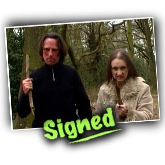 Signed Photograph - Allin Kempthorne and Pamela Kempthorne as Ke