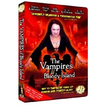 The Vampires of Bloody Island NTSC DVD