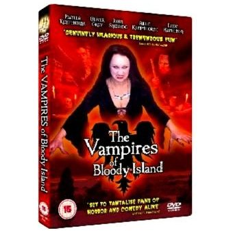 The Vampires of Bloody Island PAL DVD