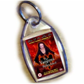 The Vampires Of Bloody Island Keyring - Click Image to Close