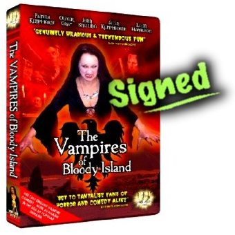 The Vampires of Bloody island Signed NTSC DVD
